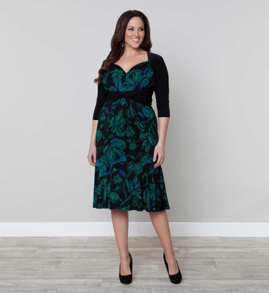 Kiyonna Taryn Twist Dress
