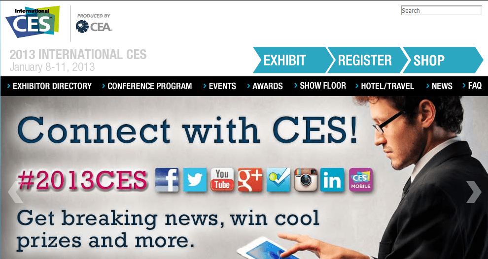 Showcasing Fabulous Tech at CES 2013