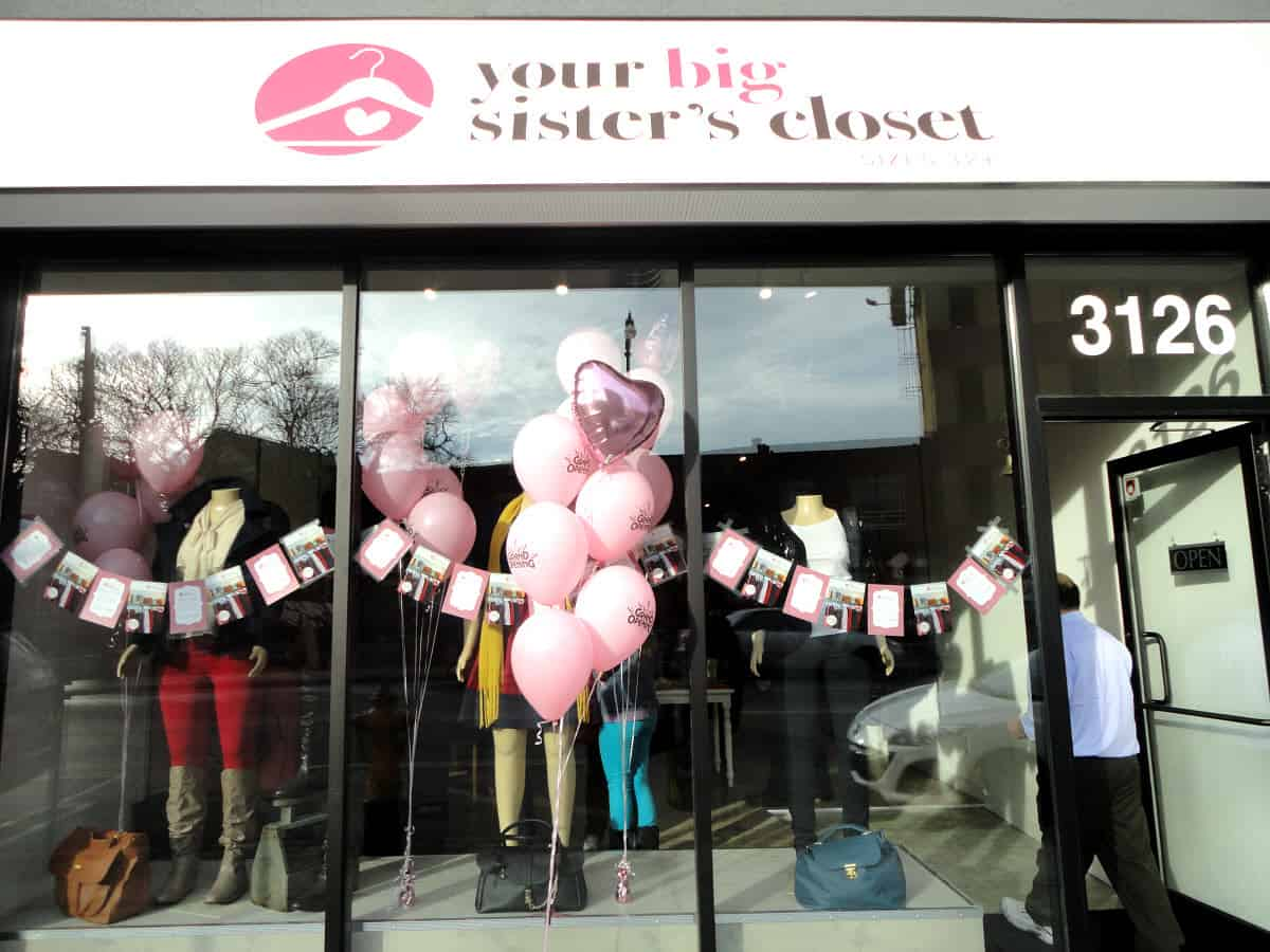 Grand Opening of Your Big Sister's Closet