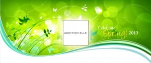 Celebrate Spring with Addition Elle