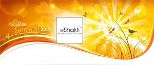 Celebrate Spring with eShakti