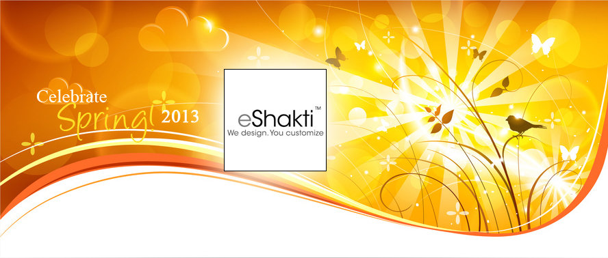 Celebrate Spring with eShakti