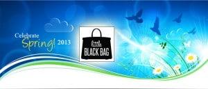 Celebrate Spring: Little Black Bag