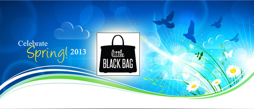 Celebrate Spring with Little Black Bag