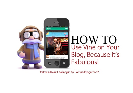 How to Use Vine on Your Blog Because its Fabulous