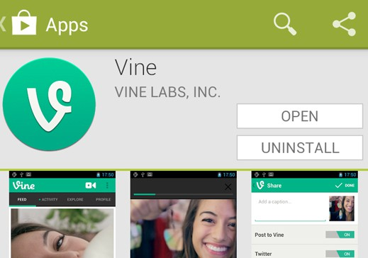 Perfect Timing: Vine Now Available for Android