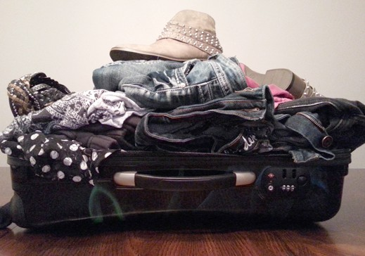 Packing for BlogHer Conference with Heys