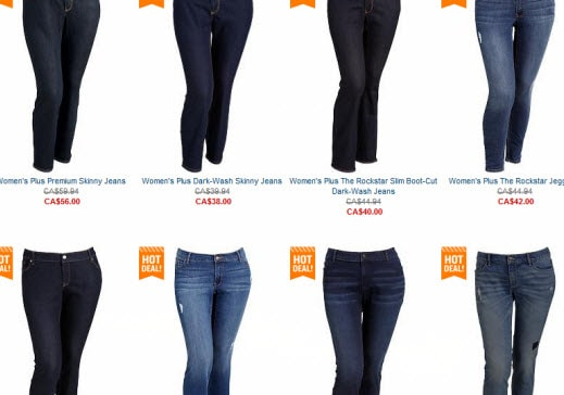 Get the Skinnies on Old Navy Women's Plus Jeans with This Fab Deal!
