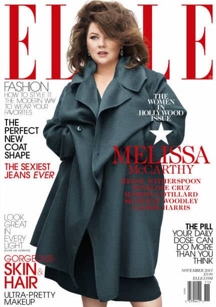 What's the Issue? Let's talk about fashion, Melissa McCarthy and ELLE