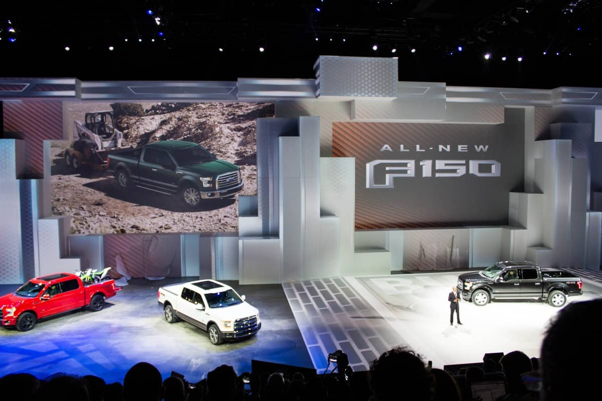 FORD NAIAS F150 REVEAL 2014