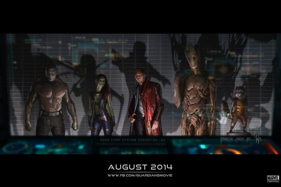 Marvel's GUARDIANS OF THE GALAXY, Released this August 2014! Have you seen the trailer yet?