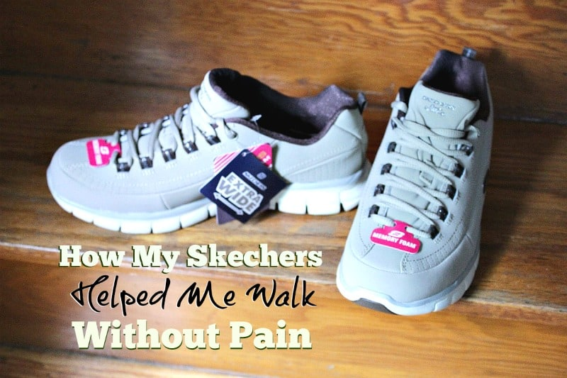 How My Skechers Helped Me Walk Without Pain Again