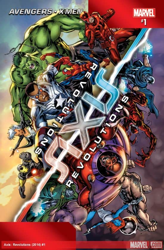 The Wisdom of Spider-Man that Everyone Should Read (comic cover: Marvel's Avengers - X-Men AXIS Revolutions #1) #comics #marvel #avengers #xmen #spiderman
