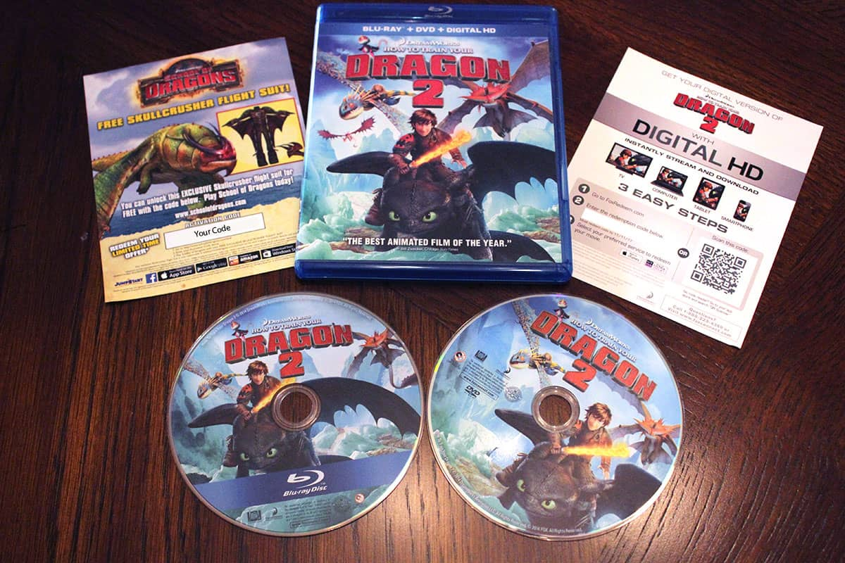 How To Train Your Dragon 2 now on Blu-Ray (review)