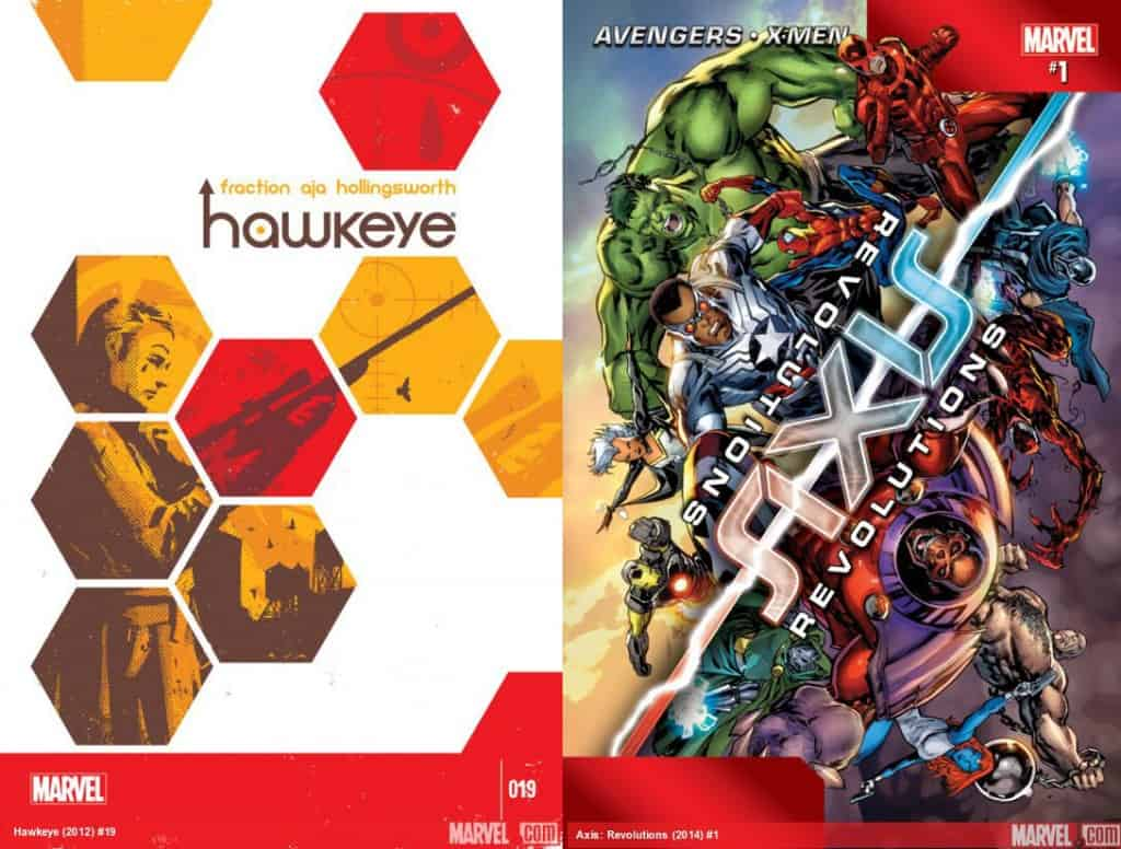 Geek with Style Contest: Marvel's Hawkey #19 and AXIS: Revolutions #1