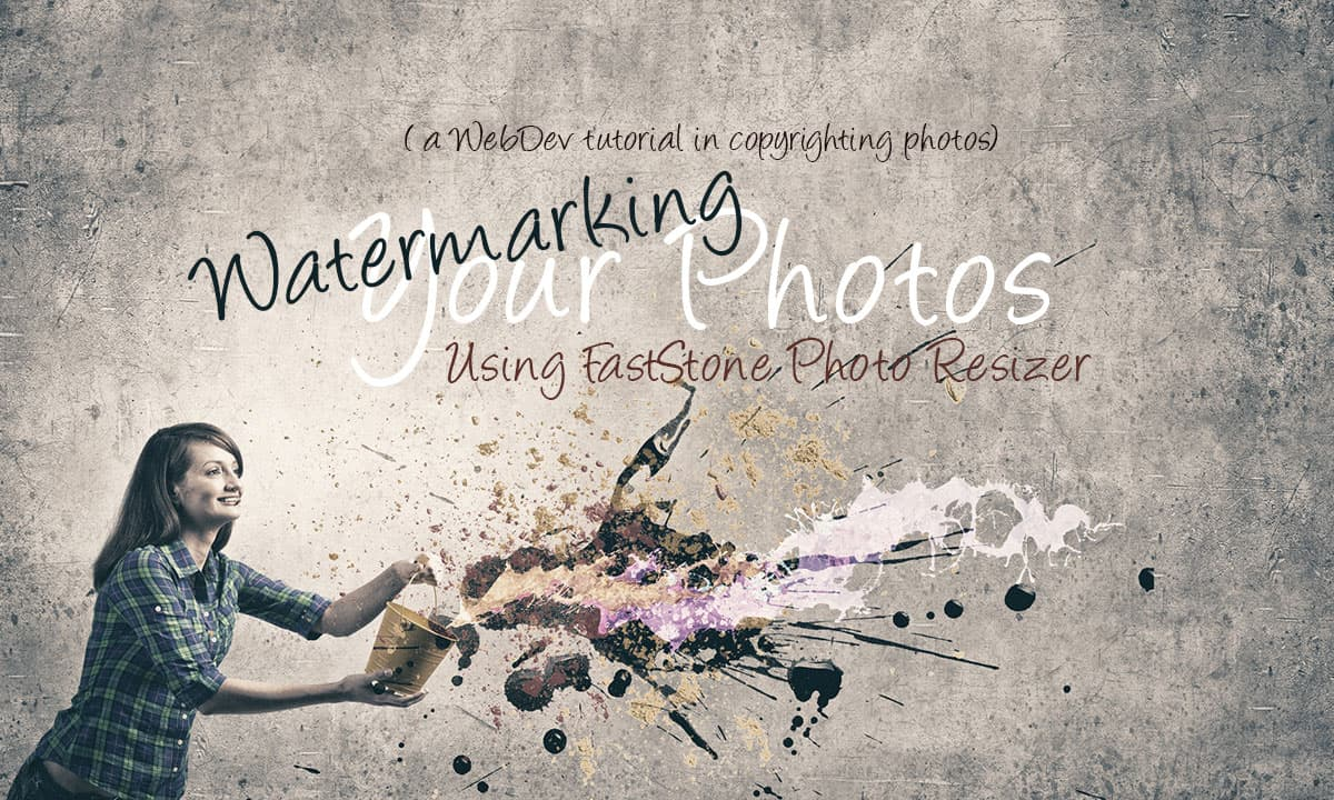 Best Way to Watermark Photos for Your Blog