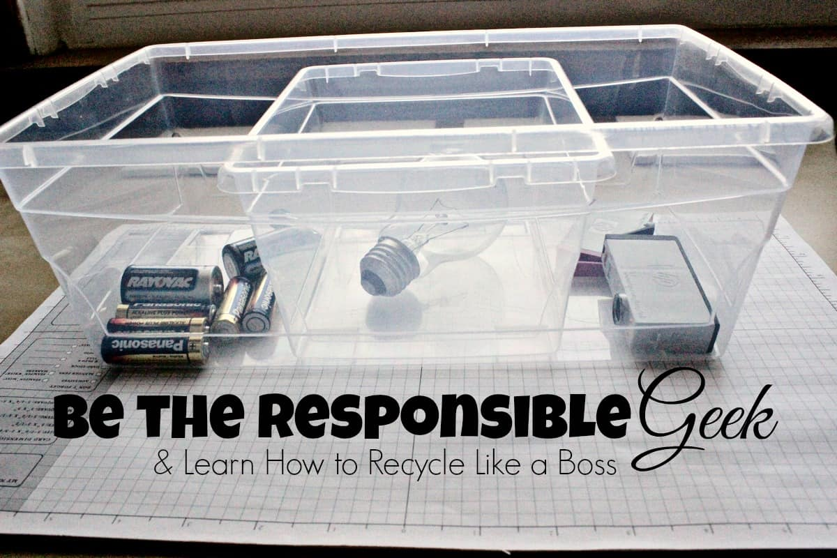 Be A Responsible Geek, Recycle Your Tech