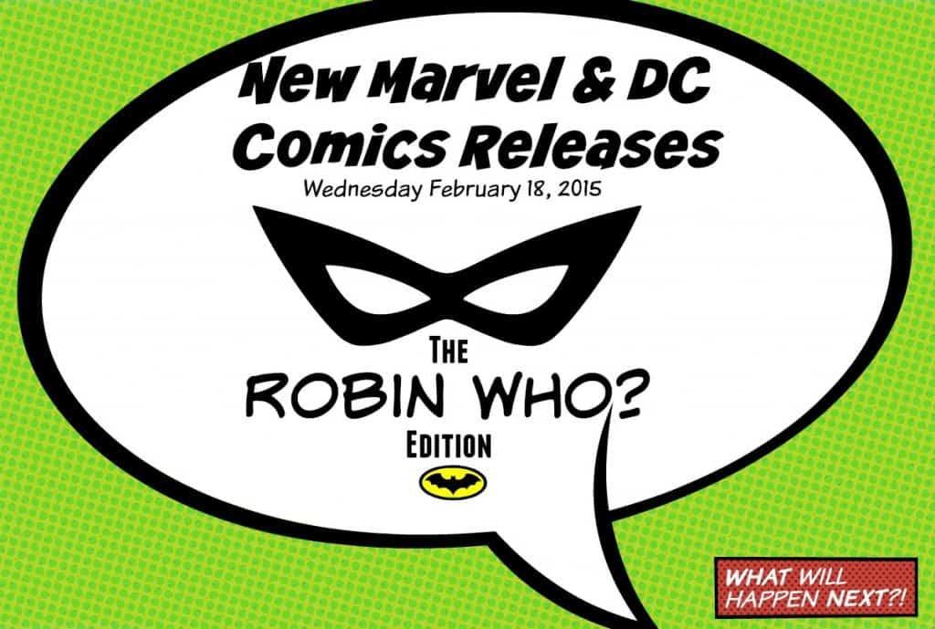 New Comics Batman's Robin Who? Edition