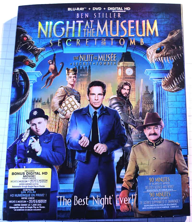 Night at the Museum: Secret of the Tomb Blu-Ray/DVD
