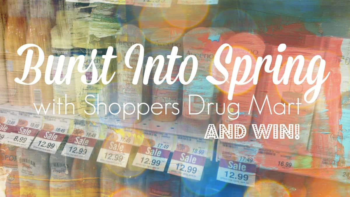 Shoppers Drug Mart: Burst Into Spring and Win