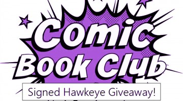 #ComicBookClub: Signed All-New Hawkeye #1 Giveaway!