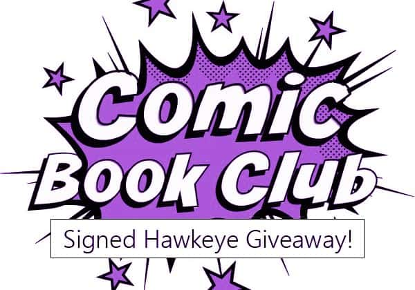 Enter to win a signed All-New Hawkeye #1 comic book with @AerynLynne! #ComicBookClub (Can/US, ends July 10, 2015)