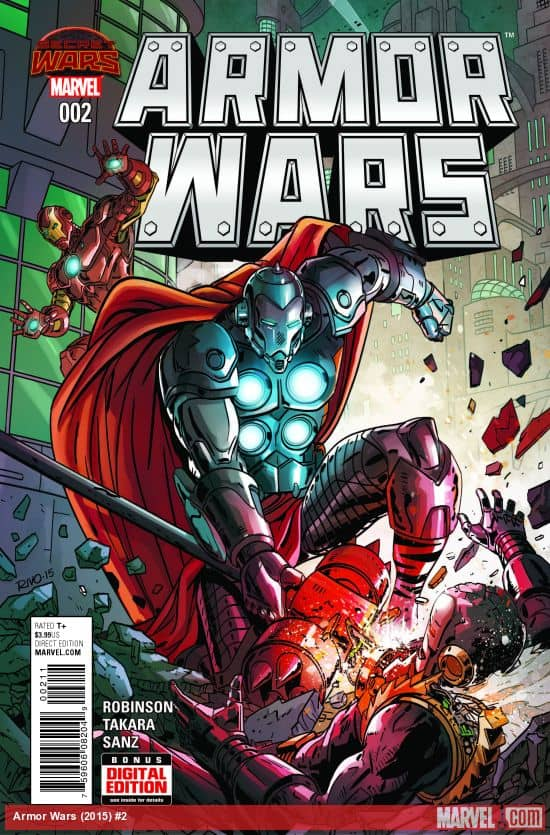 Marvel's Secret Wars, Battle World: Armor Wars #2