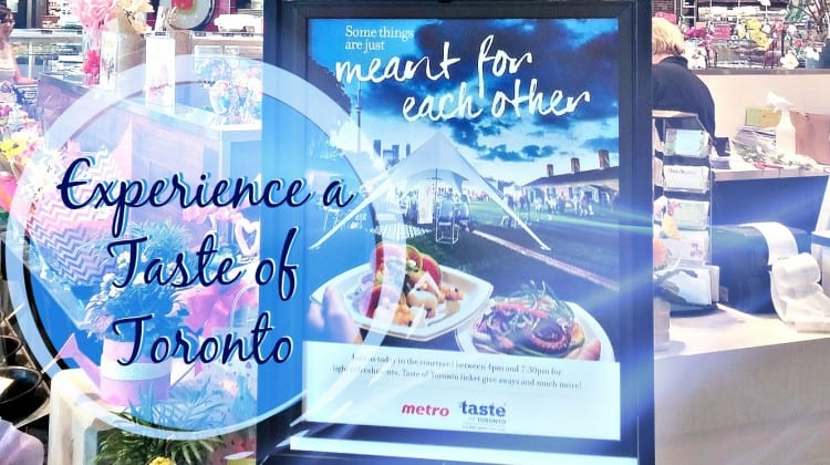 Experience a Taste of Toronto