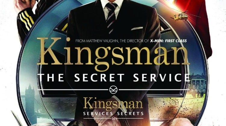 Kingsman: The Secret Service now on Blu Ray