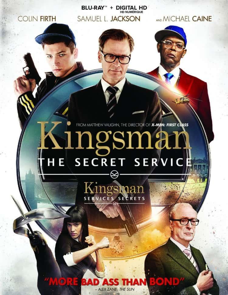 Kingsman: The Secret Service now on Blu Ray