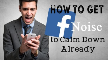 Incredibly Ridiculous Facebook App Noises, and How To Get Rid of Them