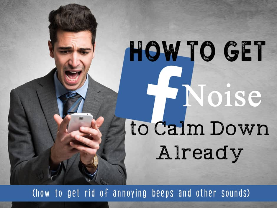 Facebook and It's Annoying Noise