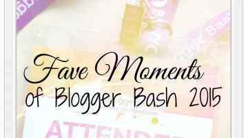Fave Bits of Blogger Bash 2015