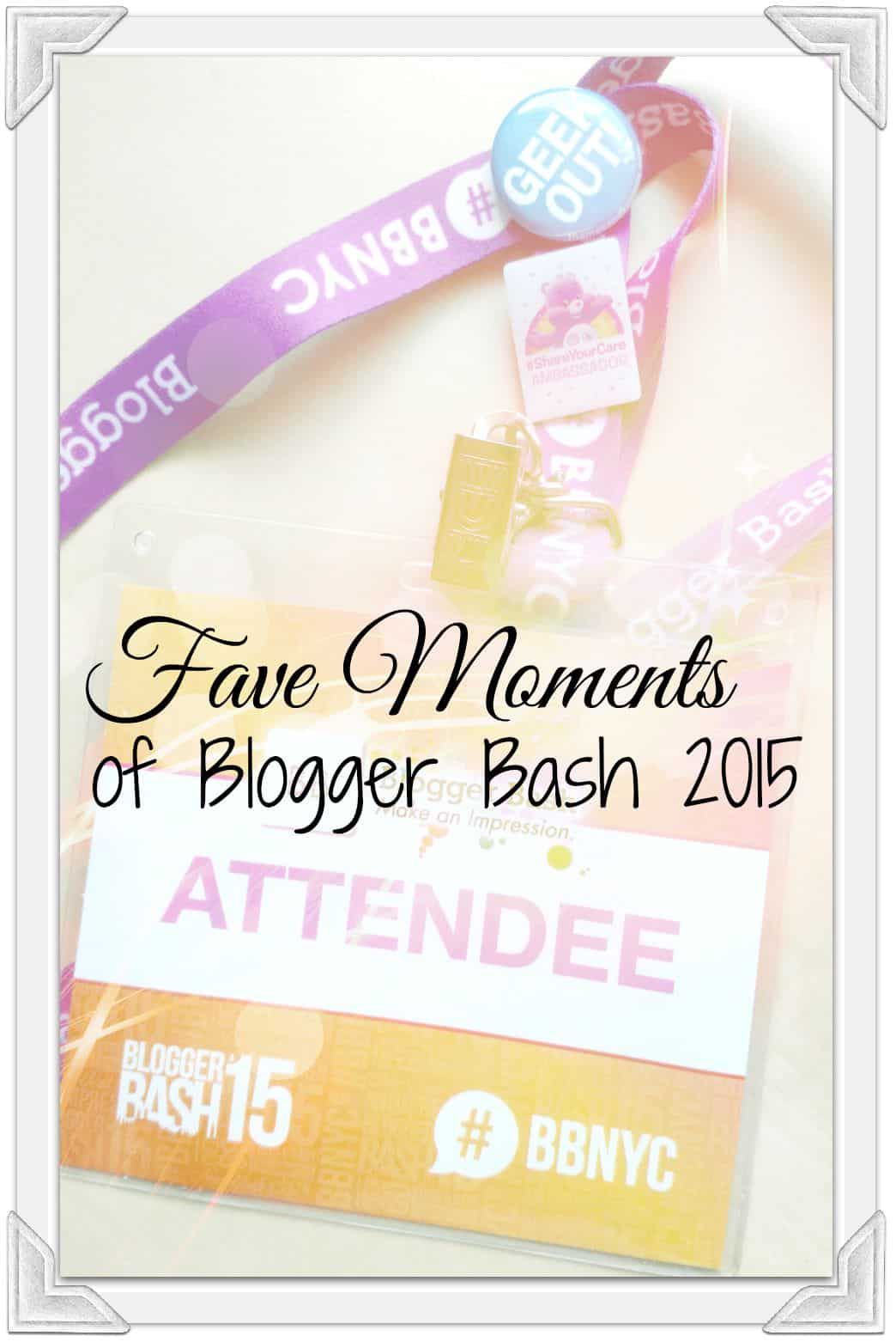 Fave Bits of Blogger Bash 2015 1