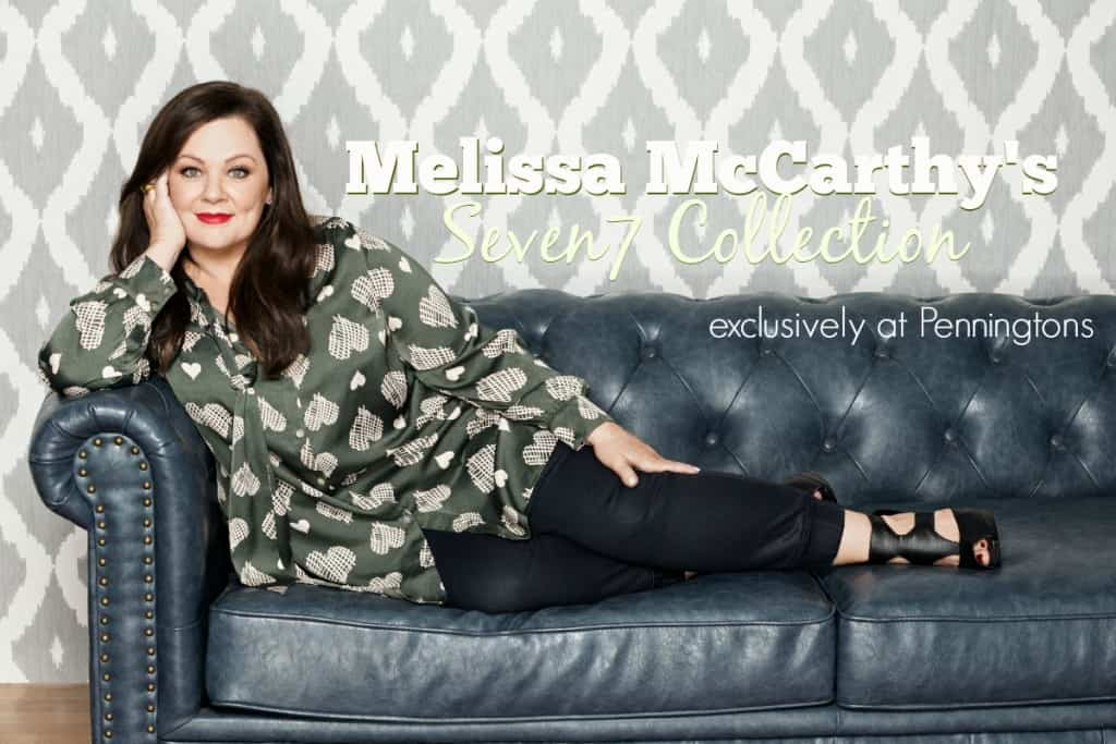 Melissa McCarthy's Seven7 Collection Exclusive at Penningtons