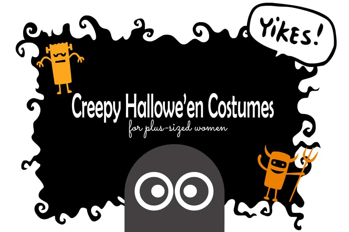 Creepy Plus Size Women's Hallowe'en Costumes