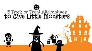 Trick or Treat: Five Alternative Goodies To Hand Out To The Little Monsters
