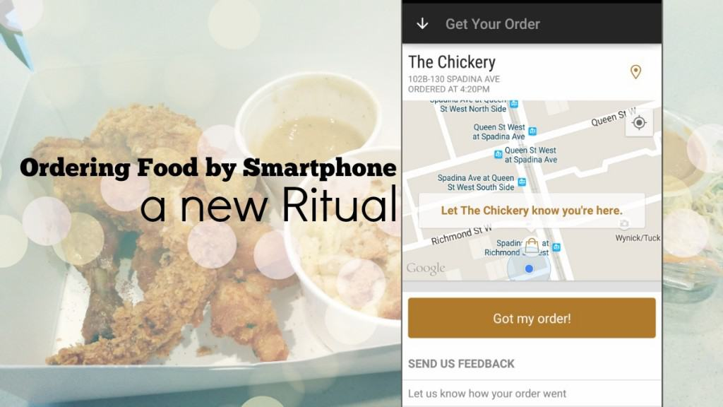 Toronto App to Order Food by Smartphone