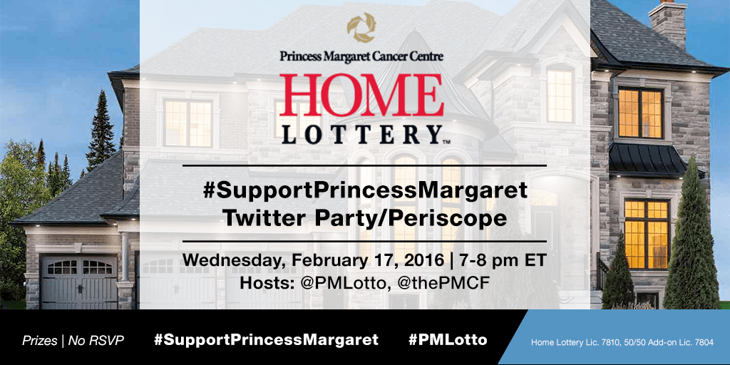 #SupportPrincessMargaret Home Lottery