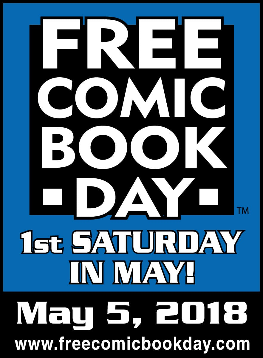 Free Comic Book Day May 5 2018