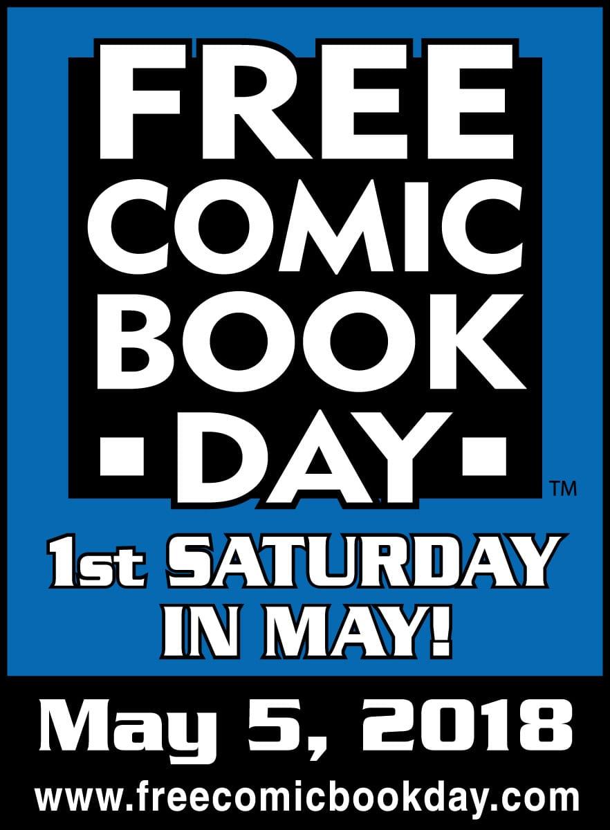 Free Comic Book Day May 5 2018