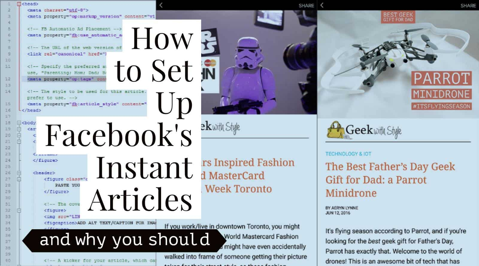 How To Facebook Instant Articles Initial Setup