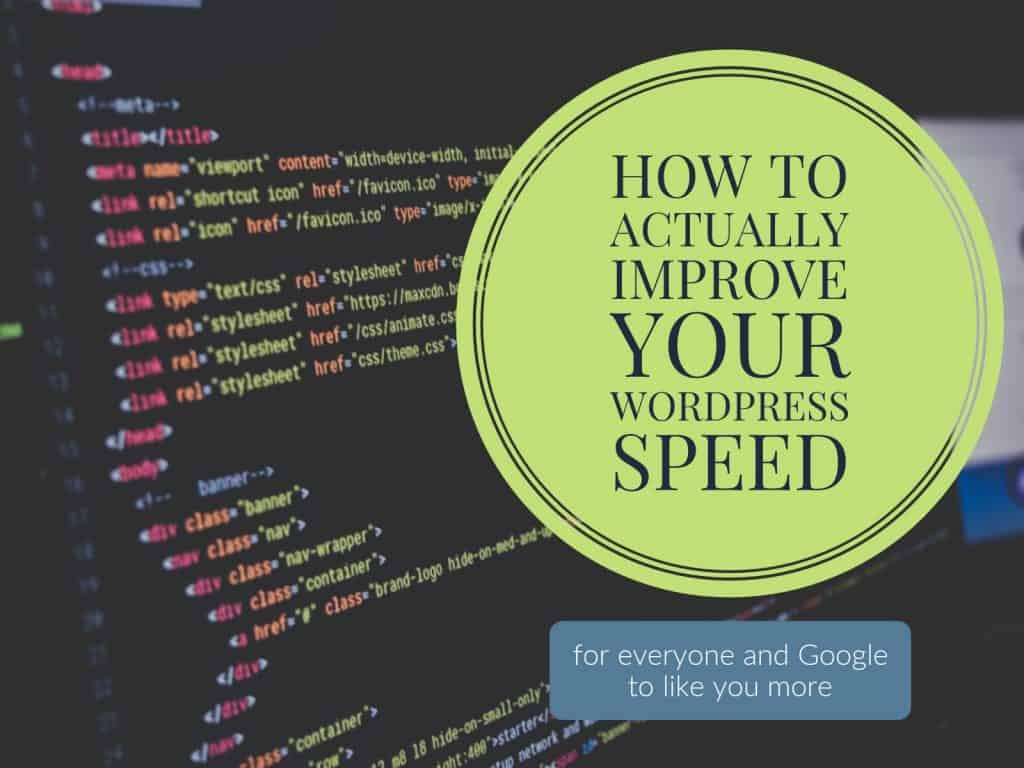 How to Actually Improve WordPress Site Speed