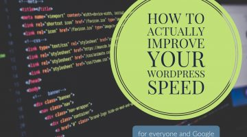 How to Actually Improve Your WordPress Speed