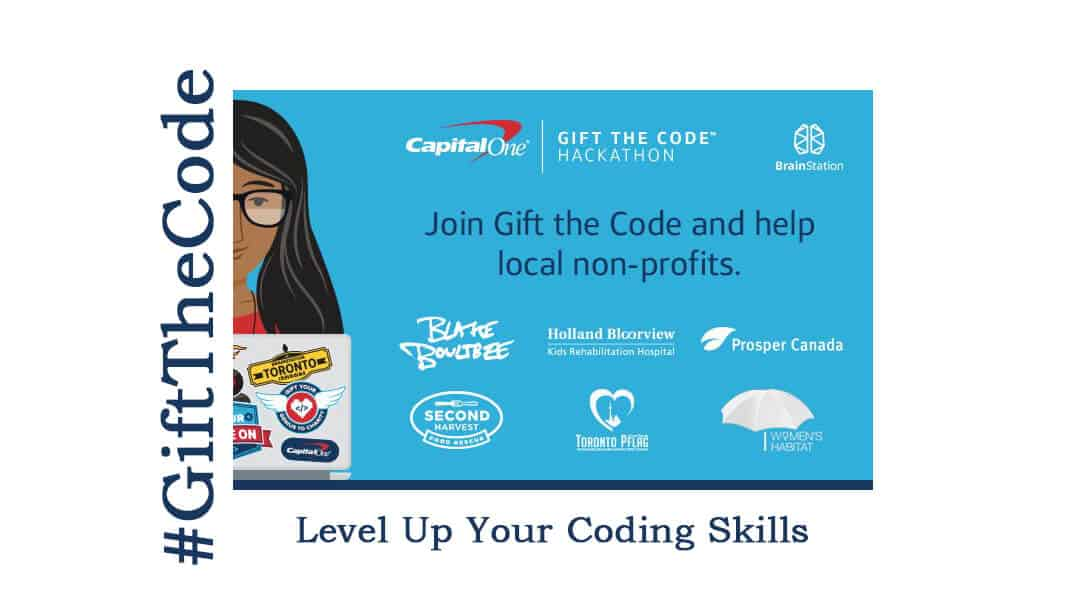 #GiftTheCode Hackathon this October in Toronto!