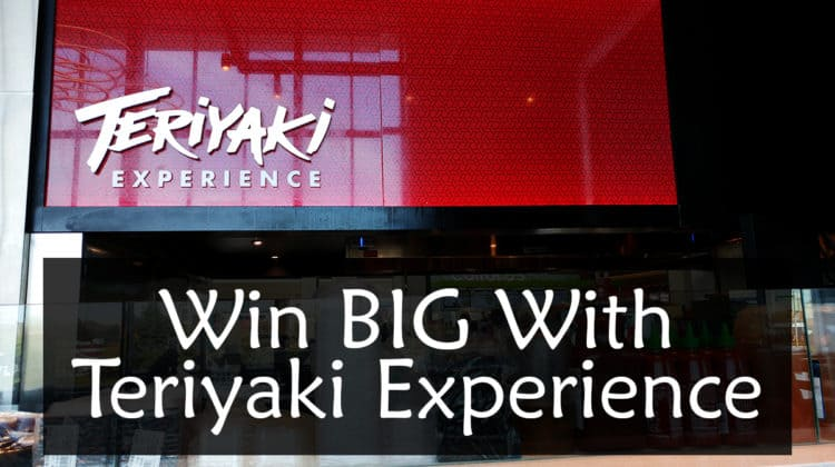 Win BIG With Teriyaki Experience