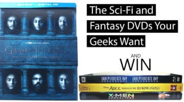 Science Fiction and Fantasy TV Movie DVDs Geeks Want for Christmas