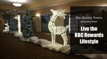 Live the RBC Rewards Lifestyle This Holiday Season, and Earn Points Faster