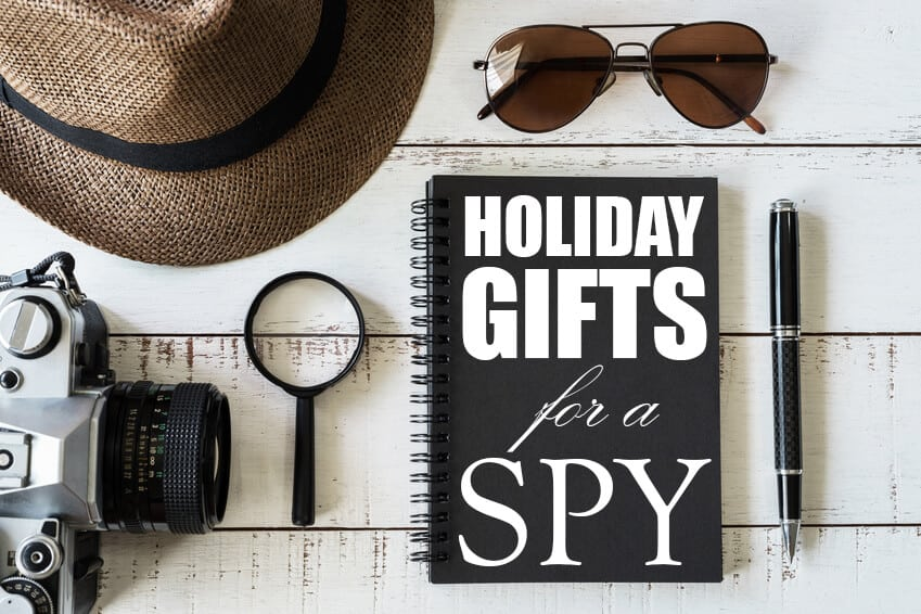 The Geek's Holiday Gift Guide for the Spy Who Loves You 1