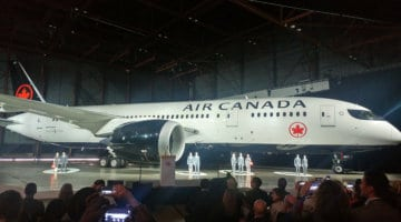 Air Canada Reveals New Brand including Rondelle on Tail